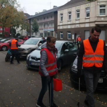 Aufschlag für Waste Walk in Heisingen ein Erfolg